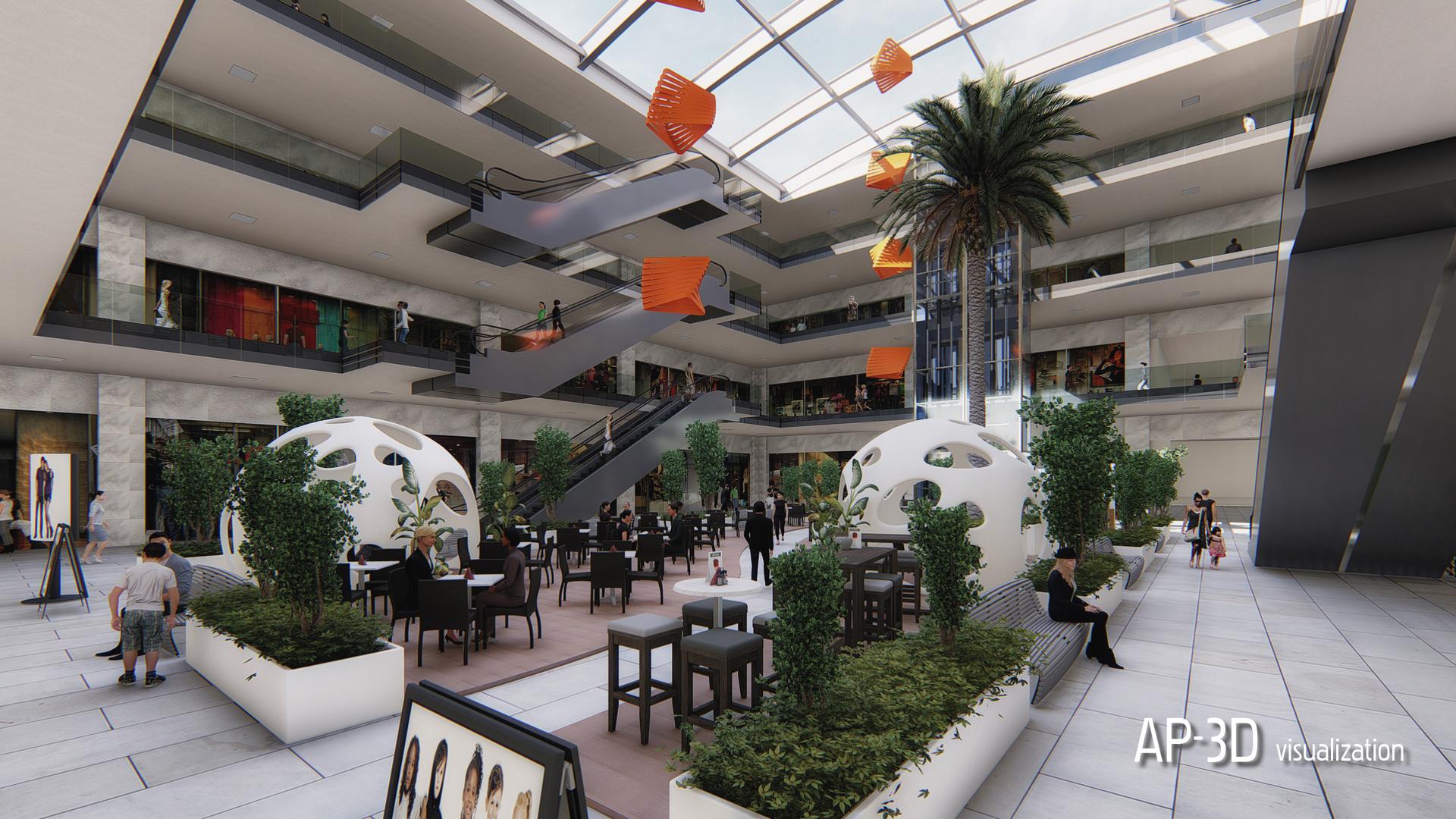 Shopping Center-Athens