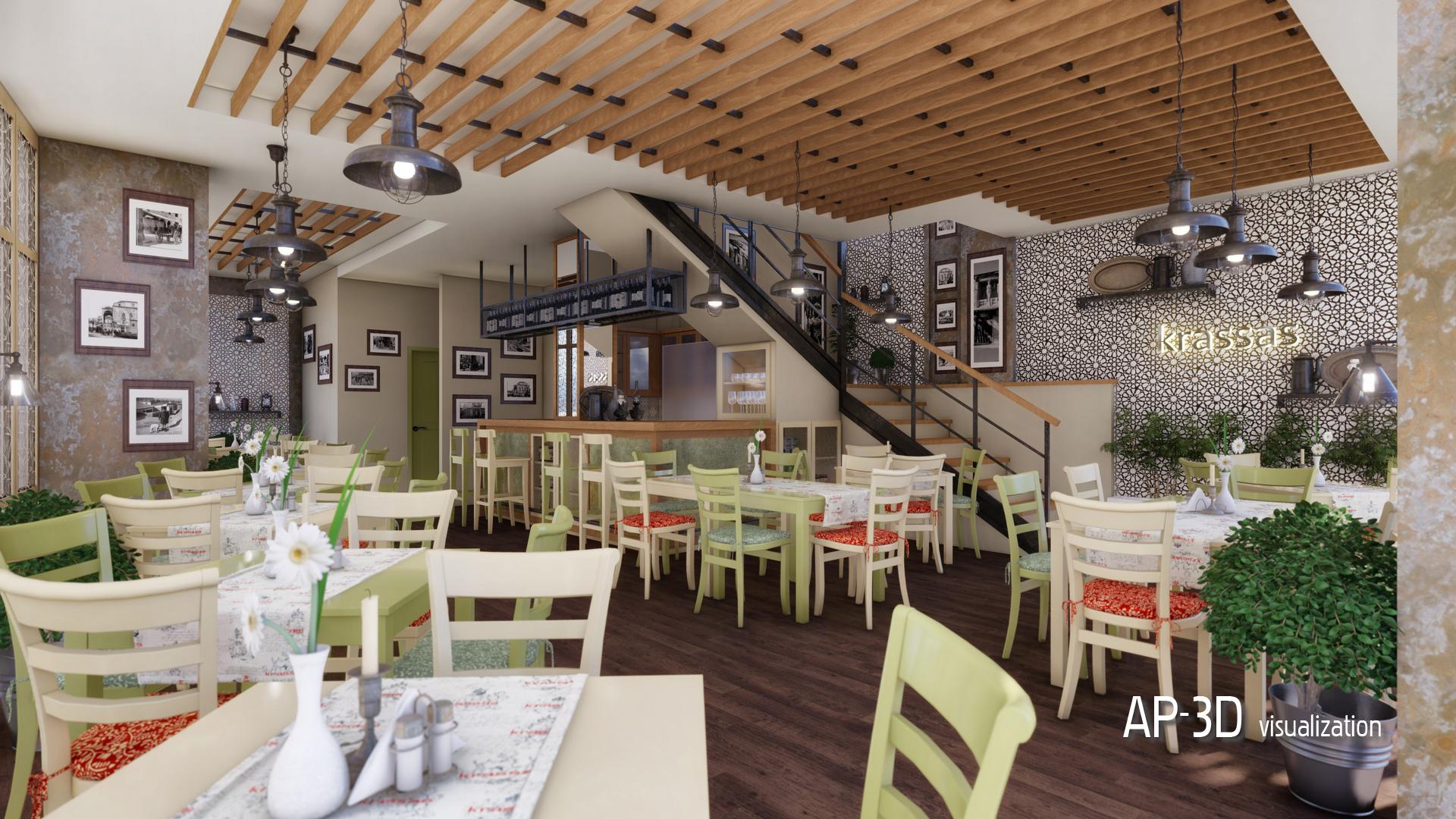 Restaurant Psiri – Athens